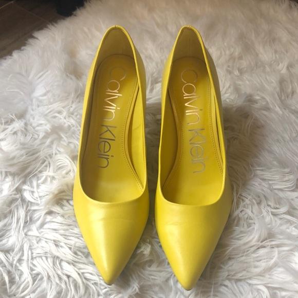 Calvin Klein Limonata Heels Size 8